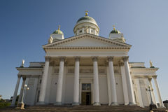 Helsinki Cathedral entrance Royalty Free Stock Photo
