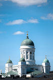 Helsinki cathedral (Finland) Stock Images