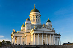 Helsinki Cathedral, Finland Stock Photos