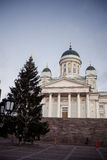 Helsinki Cathedral in Finland Royalty Free Stock Photo