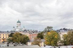 Helsinki cathedral Finland Royalty Free Stock Image