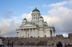 Helsinki Cathedral Royalty Free Stock Image