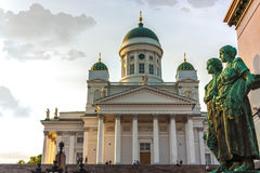 Helsinki Cathedral in Finland, Europe Royalty Free Stock Images