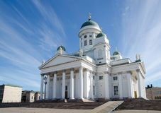 Helsinki Cathedral, Finland in summer Royalty Free Stock Photo