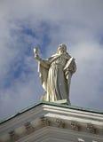 Helsinki cathedral (II). Royalty Free Stock Image