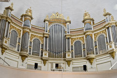 Helsinki Cathedral Organ Royalty Free Stock Photography