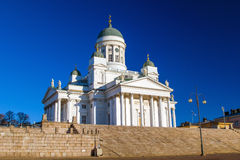 Helsinki Cathedral or St Nicholas' Royalty Free Stock Photo