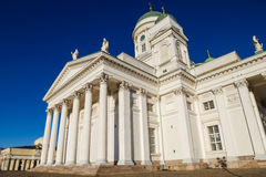 Helsinki Cathedral or St Nicholas Stock Photo