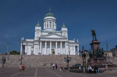 Helsinki Cathedral Stock Image