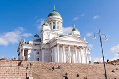 Helsinki Cathedral Stock Photos