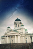 Helsinki Catheral . Royalty Free Stock Images
