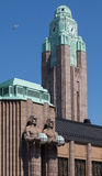 Helsinki central railway station Royalty Free Stock Photography