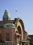 Helsinki Central railway station. Finland Stock Photo
