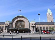 Helsinki Central railway station Stock Photo