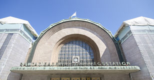 Helsinki central railway station Stock Images