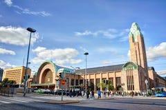 Helsinki Central railway station Stock Photos