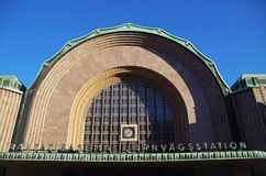 Helsinki central station, Finland Royalty Free Stock Photo