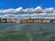 Helsinki, centro storico Fotografia Stock