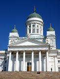 Helsinki church Royalty Free Stock Photos
