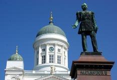 Helsinki church royalty free stock photo