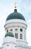 Helsinki city cathedral Royalty Free Stock Photos