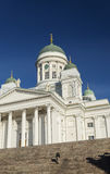 Helsinki city cathedral in senate square finland Royalty Free Stock Photography