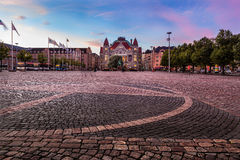 Helsinki city Center Stock Image