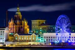 Helsinki city landscape Stock Photos
