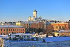 Helsinki cityscape, Helsinki Royalty Free Stock Images