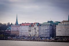 Helsinki Cityscape and Skyline Finland stock images