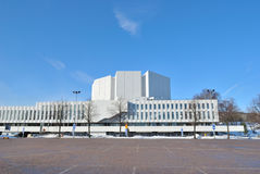 Helsinki. Congress Hall  Finlandia Royalty Free Stock Photos