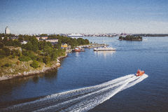 Helsinki denny przód Obrazy Stock