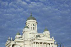 Helsinki Dome Royalty Free Stock Photography