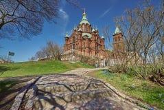 Helsinki en Finlande Photos stock