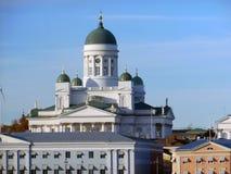 Helsinki. Famous Helsinki Cathedral in Finland Stock Image