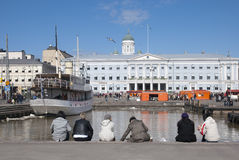 Helsinki. Finland royalty-vrije stock afbeelding
