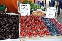 Food market in Helsinki stock photography