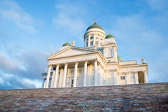 Helsinki. Finland. Cathedral Stock Photos