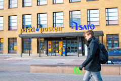 helsinki finland Centraal postkantoor Stock Foto's