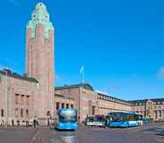 Helsinki. Finland. City transport Stock Photo