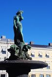 Havis Amanda Statue in Helsinki, Finland Royalty Free Stock Images