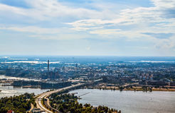 Helsinki Finland II. Aerial view of Helsinki, capito of Finland Stock Photography