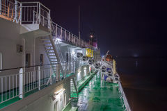HELSINKI, FINLAND-JANUARY 5: Promu Viking linia cumuje przy Fotografia Stock
