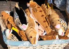 helsinki finland Jouets traditionnels de souvenir Image stock
