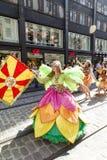 HELSINKI, FINLAND - JUNE 10, 2017: Helsinki Samba Carnaval celeb Stock Photo