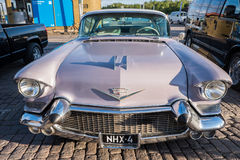Helsinki, Finland Old car Cadillac. Helsinki, Finland 02 June 2017 Old car Cadillac Royalty Free Stock Images