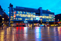Helsinki. Finland. Kamppi Royalty Free Stock Photography