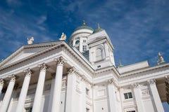 Helsinki. Finland. Kathedraal royalty-vrije stock afbeeldingen