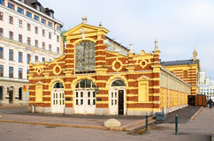 helsinki finland Le vieux marché Hall Image stock