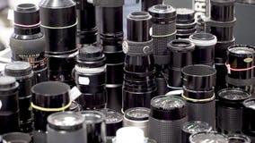 ld vintage lens at flea market